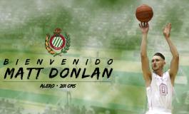 Levitec Huesca confirma el nuevo fichaje de  Matt Donlan