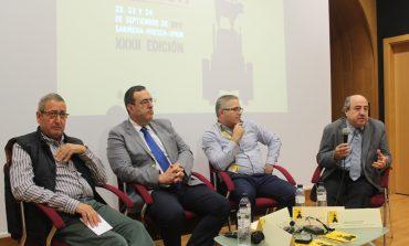 La Comarca de Los Monegros pone el acento en la marca agroalimentaria como distintivo de calidad para el territorio, en la mesa redonda que ha organizado hoy en el marco de FEMOGA 2017