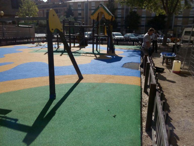 El Ayuntamiento está a punto de finalizar la mejora de las zonas infantiles de la ciudad