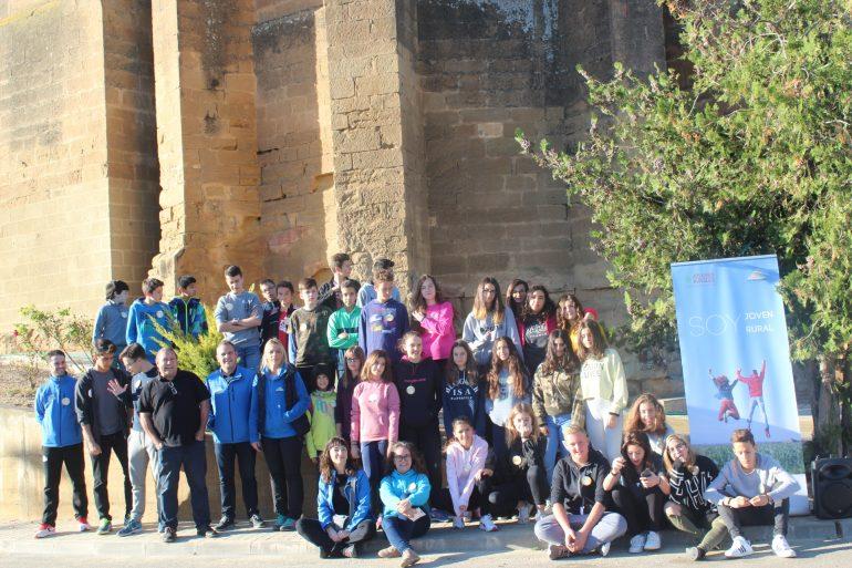 Un total de 38 jóvenes monegrinos aprenden en Alberuela de Tubo a dinamizar sus pueblos