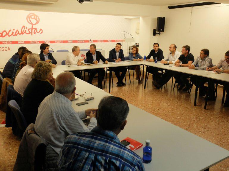 La Ejecutiva del PSOE del Alto Aragón pone en marcha el Congreso Provincial