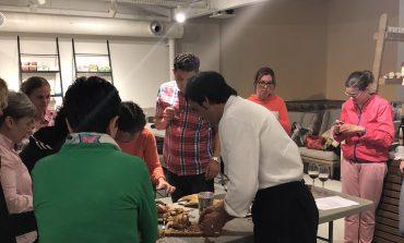 SEMONIA celebra su segundo ciclo de talleres de cocina con Paco Oliva