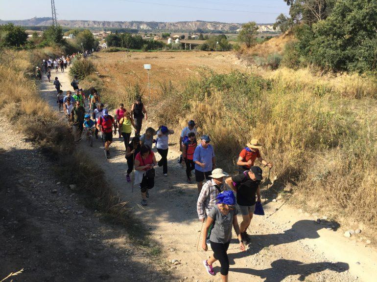 La segunda Andada y marcha popular de Down Huesca recorre Fonz este sábado