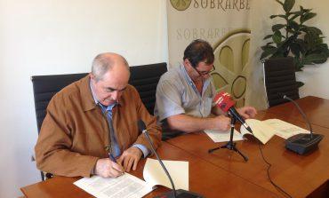 La Comarca del Sobrarbe y la Cámara de Comercio renuevan el convenio de colaboración para la prestación de servicios de desarrollo socioeconómico