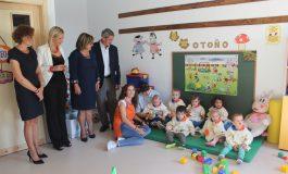 Inaugurada la nueva aula de la Escuela Infantil Comarcal de Los Monegros en Lanaja