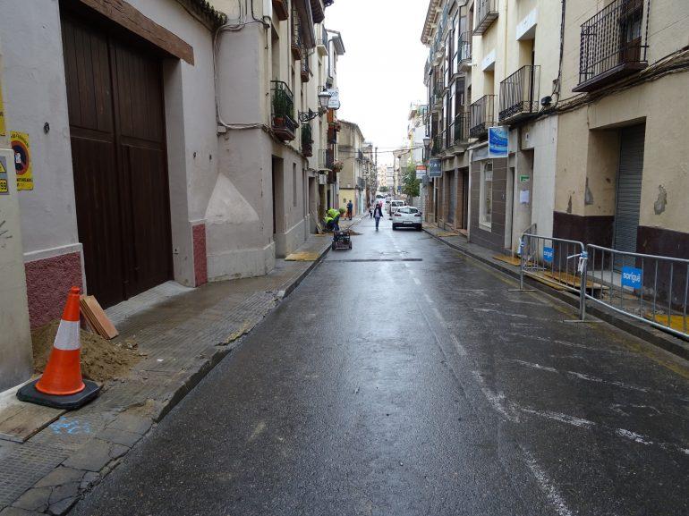 Afecciones al tráfico con motivo de las obras en la calle Padre Huesca, el próximo lunes