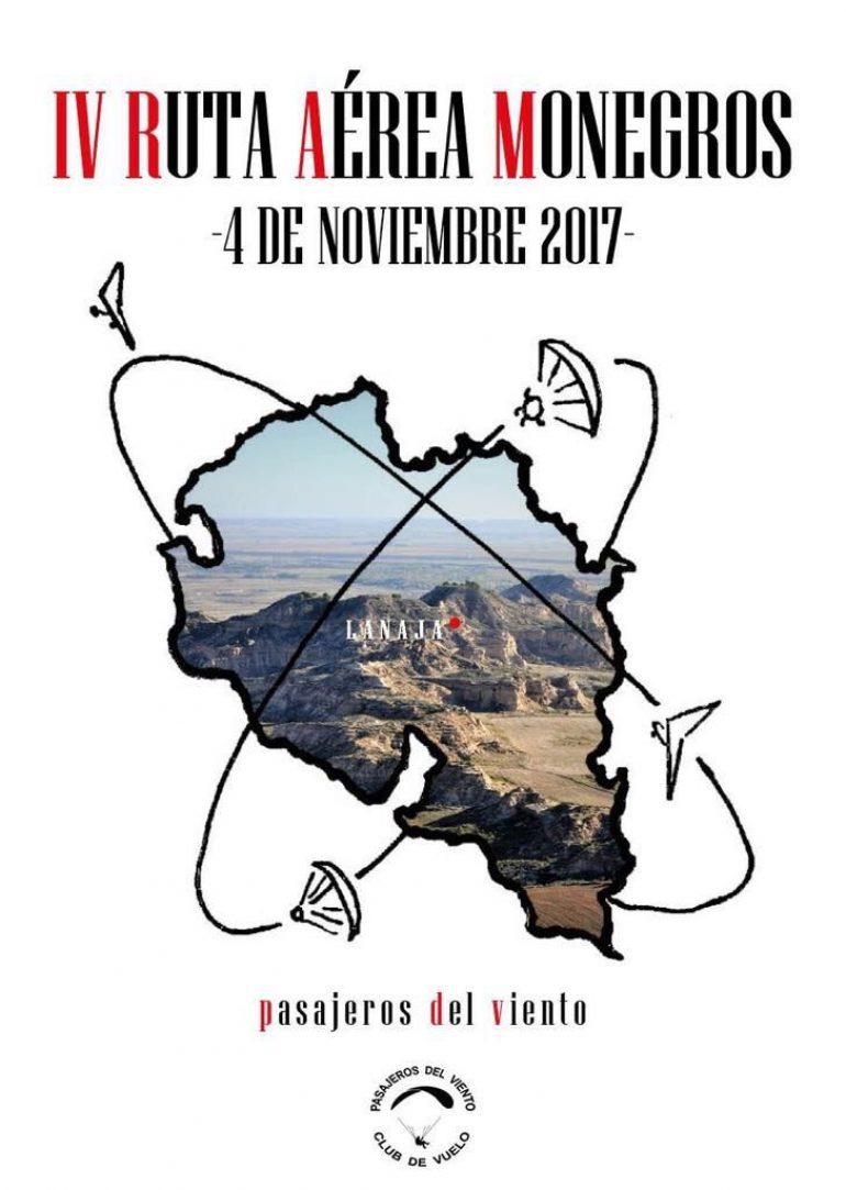 La IV Ruta Aérea de Los Monegros tendrá lugar este sábado, 4 de noviembre, con salida y llegada en Lanaja