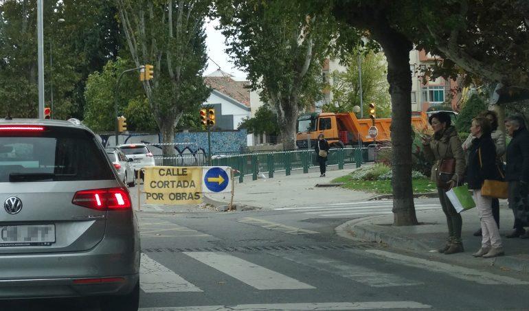 PAR-Huesca pide al ayuntamiento que refuerce información, señalización y alternativas ante las afecciones al tráfico por obras