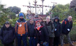 Un grupo de 40 usuarios de Atades Huesca viaja a Disneyland París