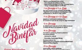 Presentación de la campaña comercial de Navidad en Binéfar