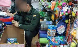 La Guardia Civil interviene 1291 juguetes y productos de higiene de contrabando en la provincia de Huesca