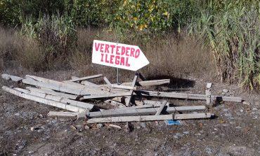 Seprona abre diligencias por la existencia de varios vertederos ilegales localizados en el término municipal de Fraga