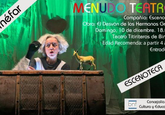 Teatro y mucha música dan forma al programa cultural del Ayuntamiento de Binéfar para diciembre