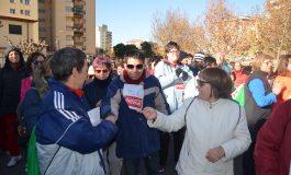 Monzón camina por la Inclusión social de los discapacitados