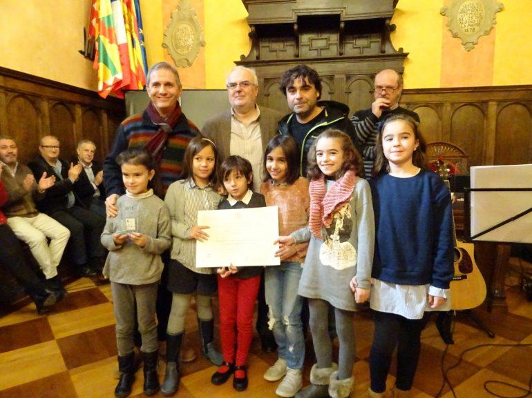 Entrega de galardones de la segunda edición del Premio Pedro Lafuente en aragonés