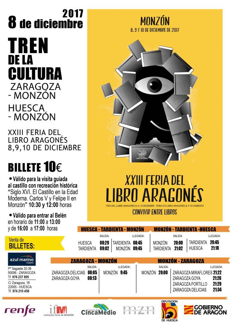XXIII FLA: 33 editoriales, 80 libros a escena, 120 escritores en vivo, dos trenes culturales, Luz Gabás, La Ronda de Boltaña…