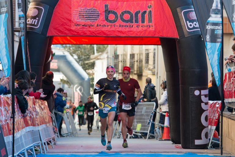 José Antonio Muro y Ana Revilla, vencedores del II Estiva Extrem de Monegrillo, puntuable para el II Monegros Trail Series