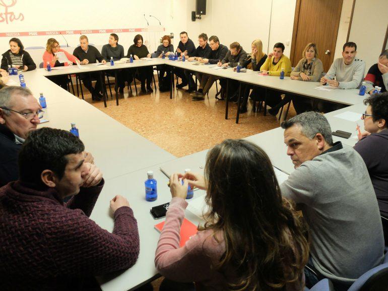 Los socialistas impulsarán su presencia en todo el territorio para respaldar la labor de los alcaldes y concejales socialistas