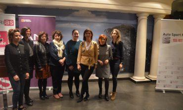 """María Victoria Broto, en Huesca: """"En este país lo importante son las horas que trabajamos cuando debería ser la eficacia de ese tiempo"""""""