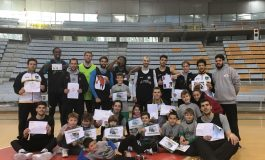 l Club Baloncesto Peñas cerró el pasado viernes día 29 de diciembre su I Campus Multienergía Verde Peñas Huesca