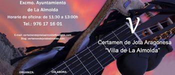 "Publicadas las bases del V Certamen de Jota Aragonesa ""Villa de La Almolda"""