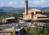 El santuario de Torreciudad recibió en 2017 cerca de 200.000 visitantes, un 2% más que en 2016