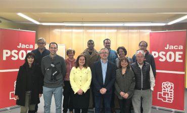 Juan Manuel Ramón Ipas revalida como secretario general del PSOE de Jaca