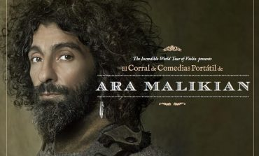"""Ara Malikian presenta """"El Corral de Comedias Portátil"""" en el Palacio de Congresos de Huesca"""