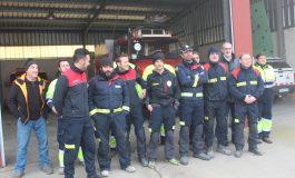 Los bomberos de la Comarca del Cinca Medio muestran su rechazo a la denuncia que exige el cierre del servicio