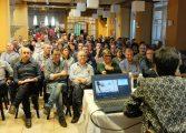 Alrededor de 150 ediles socialistas oscenses debaten sobre el presente y futuro del socialismo y del territorio