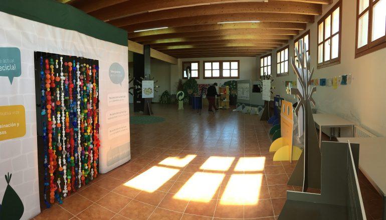 """La exposición itinerante """"Gracias por reciclar, tu esfuerzo se notará» llega a Los Monegros"""