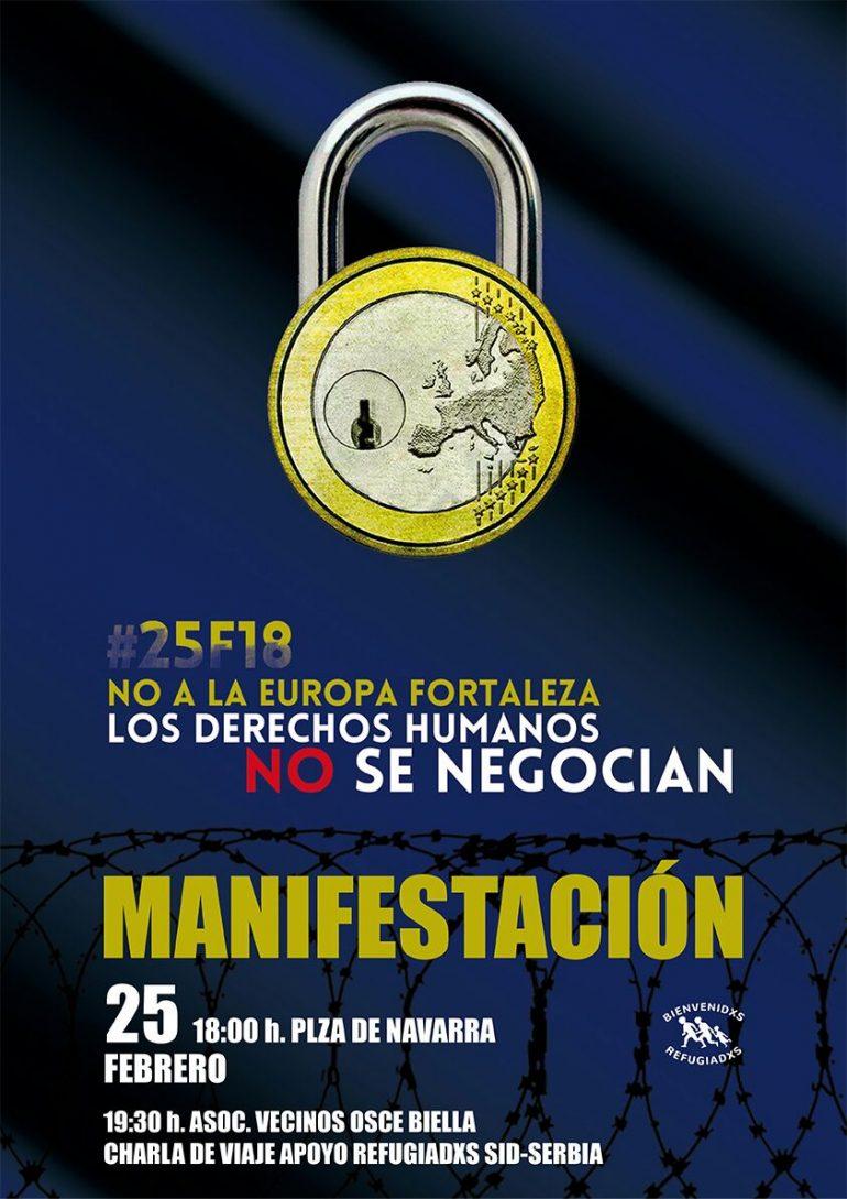 Huesca y otras 20 ciudades se movilizan para exigir el cumplimiento de los Derechos Humanos para las personas refugiadas