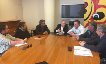 El Bajo Cinca preocupado ante el cambio de modelo de agricultura familiar en el sector de la fruta