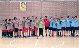 El partido de la liga regular cadete de balonmano se salda con la victoria del Club Balonmano Almogavar Zaragoza