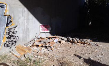 IU muestra su satisfacción por la limpieza de un vertedero ilegal en el término municipal de Fraga