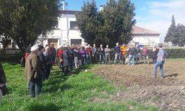 Más de 40 personas asisten a la jornada formativa en horticultura ecológica en Binéfar
