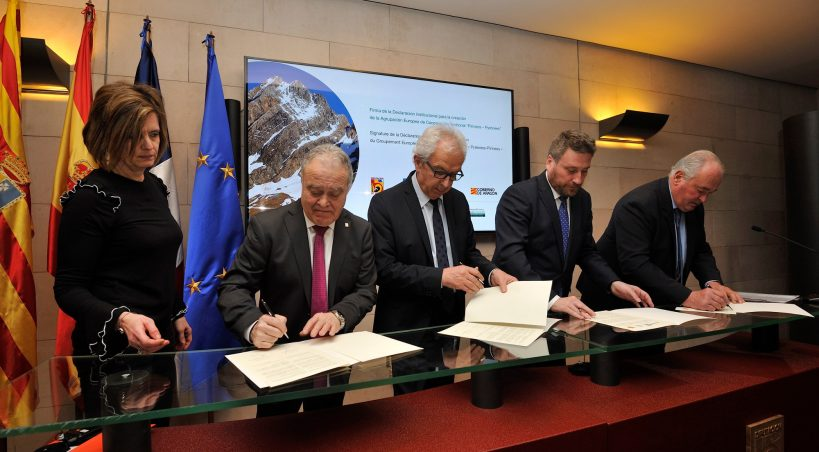 Los Pirineos centrales unen fuerzas para impulsar una marca única de promoción turística y desarrollo socio-económico