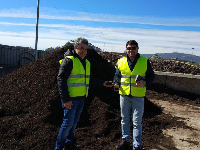 Los concejales de Cambiar Binéfar buscan modelos y fondos para implantar la recogida selectiva de materia orgánica