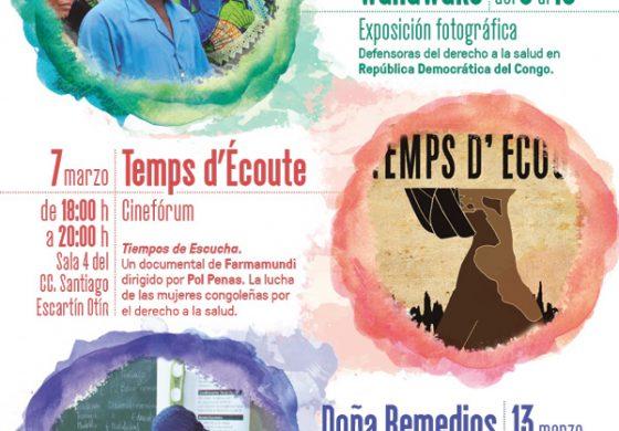 Farmamundi presenta en Huesca sus jornadas sobre equidad de género y salud