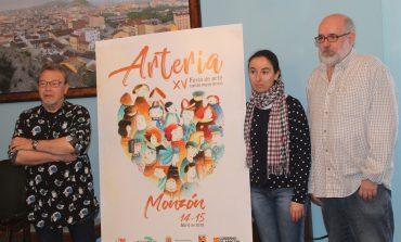La montisonense Anabel Juste, autora del cartel anunciador de la XV Feria de Arte Contemporáneo ´Arteria´