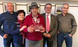 José María Solano Gracia (de Graus), ganador del VII Premio al Mérito Apícola José Manuel Bolea Ferrer