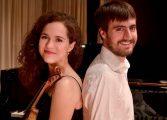 Concierto en Huesca del Dúo de violín y piano Olite-Pellejer