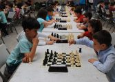 El XIV torneo de Ajedrez Escolar Villa de Binéfar reunió jugadores de Zaragoza, Huesca y Lleida