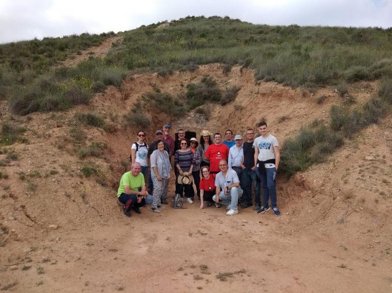 Visita a las trincheras republicanas de la Guerra Civil en Fraga