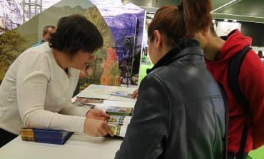 El paisaje de Los Monegros seduce a los visitantes del País Vasco