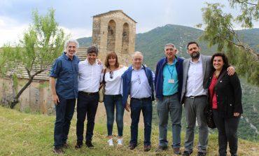 La Puebla de Castro y el municipio cordobés de Montilla estrechan lazos en la romería a San Román