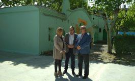El Ayuntamiento y el Gobierno de Aragón presentan las mejoras que se van a realizar en el cámping San Jorge