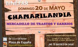 Chamarilandia, el mercado de objetos usados de Binéfar, se celebrará el 20 de mayo