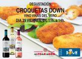 Las croquetas artesanales de Down Huesca llegan este viernes al consumidor de Barbastro