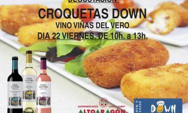 Las croquetas artesanales de Down Huesca llegan este viernes al consumidor de Sabiñánigo